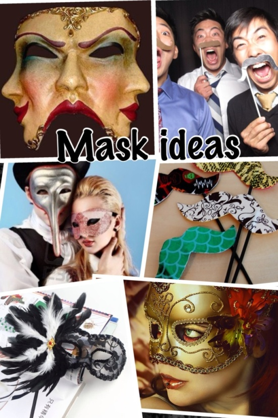 Formal Mask Ideas